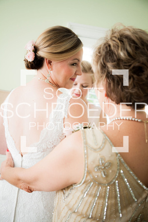 Bride, Mother, and MOH