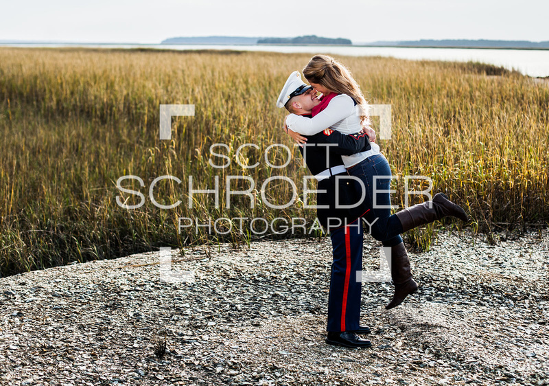 Lowcountry engagement photo