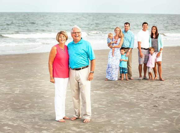 Dubey family at Hilton Head
