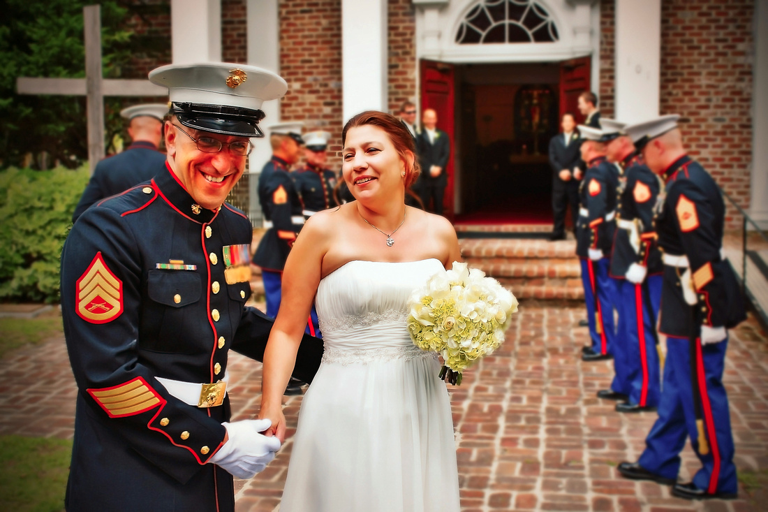 "wedding; ""bluffton wedding""; ""military wedding""; ""marine wedding""; lowcountry"