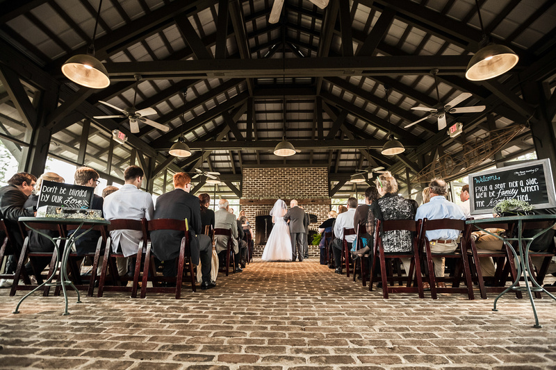 Wedding at the Outfitter's Center